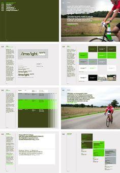 Brand guidelines for Limelight Sports designed by Studio Blackburn