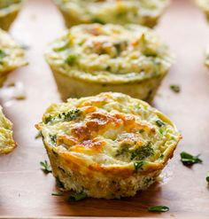 Quinoa Broccoli Egg Muffins by @ifoodreal