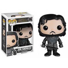 Funko Pop! Castle Black Jon Snow, Game of Thrones, HBO, Funko Jon Snow Training Grounds, Funkomania, GOT, Séries
