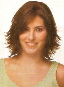 Short wavy hair style - I think this is what mine is supposed to look like now.  Not happening when I do it though!