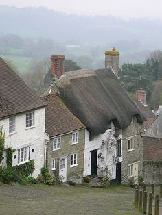 English cottage romance ~ i would love to live some of these lovely cottages