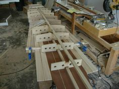 Build a Hollow wood surfboard from a kit. Tom Blake in progress.  www.woodsurfboardsupply.com