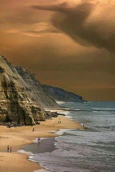 Sao Juliao beach, Portugal
