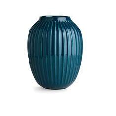 Hammershøi Vase Petrol Large