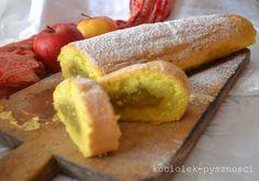 Rolada z nadzieniem jabłkowym | kociolek-pysznosci Polish Food, Polish Recipes, Hot Dog Buns, Hot Dogs, Cos, Bread, Baking, My Favorite Things, Beauty