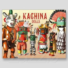 Kachina Dolls of the Hopi I'm obsessed since I saw them in Albuquerque