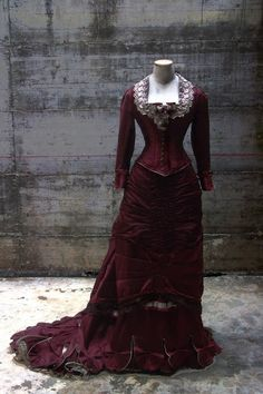 """ANTIcostume: 1875 RECEPTION DRESS  (""""The age of the innocence"""" ..."""