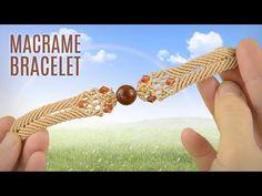Big Bead Boho Bracelet (Teaser) Macrame School - YouTube