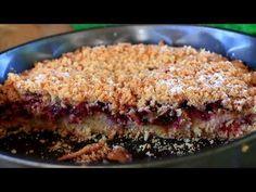 Ovaj kolač-pitu morate praviti. Ne znam sa kojim voćem je lepše. Ovaj put su šljive. Prhko a sočno. - YouTube