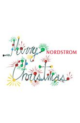 Nordstrom Classic e-Gift Card Merry Christmas $100. Quick. Easy ...