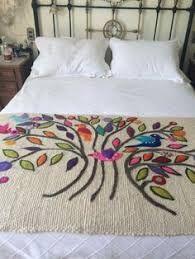 Image result for bordado mexicano patrones pie de cama