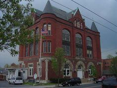 martinsburg, wv   old Berkeley County Courthouse- Martinsburg WV