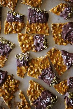 Spiced Pumpkin Seed Brittle
