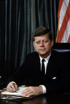 Brookline-born John F. Kennedy