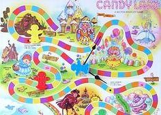 Printable Candyland Board Layout | Candyland Board Game ...