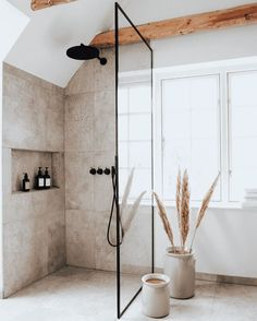 Bathroom Styling, Bathroom Interior Design, Modern Bathroom Decor, Boho Bathroom, Industrial Bathroom, Bathroom Designs, Kitchen Interior, Bathroom Ideas, Bad Inspiration