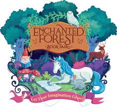 Invite your students, parents, and staff to wander into an enchanted forest book fair, the scholastic book fairs® featured theme for fall Diy Classroom Decorations, School Decorations, School Themes, Classroom Themes, Candyland Decor, Fairy Decorations, School Ideas, Forest Theme Classroom, Library Themes