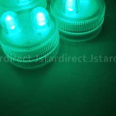 20-SUPER-Bright-Teal-Dual-LED-Submersible-Underwater-Bead-Decoration-Tea-Light