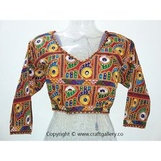 Pure cotton kutchi computer work blouse - designer blouse --- Pure cotton kutchi computer work blouse - designer blouse  Type : Designer Blouse Fabric : Pure Cotton Sleeves : 3 / 4 Additional Work : Kutchi computer work  Online Shopping for KutchiBlouse and Designer Blouse on Craft Gallery .Co  Craft Gallery .Co - The Online Store of Handloom andHandicraft Products