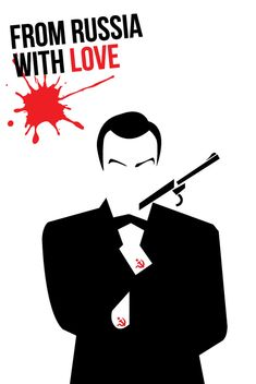 From Russia With Love poster remake by Isdailic on deviantART