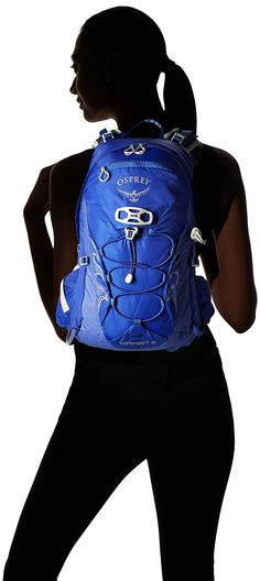 Osprey Packs Osprey Tempest 9 Backpack Iris Blue Wxs/S XSmall/Small ** Click on the image for additional details. (This is an affiliate link) Osprey Packs, Climbing Rope, Hiking Backpack, Iris, Backpacks, Denim, Link, Image, Jeans