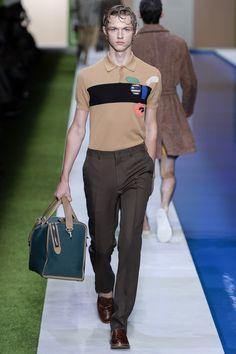 Fendi Spring 2017 Menswear Fashion Show