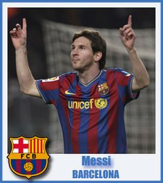 Leo Messi - Football Club Barcelona - Forward - Rosario, Argentina - 24 June 1987