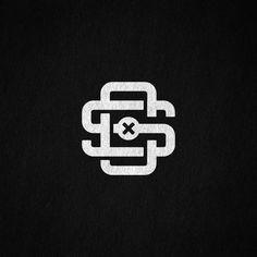 S & C monogram by tachstyle Monogram Design, Monogram Logo, Logo Design, Mg Logo, Logo Type, Letter Logo, Monogram Initials, Logo Inspiration, Logo Branding