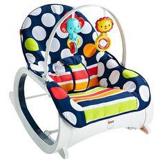 Fisher-Price Infant-to-Toddler Rocker - Navy dots : Target