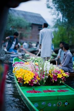 Kashmir, India. I'll never forget those boats bursting with the most beautiful flowers. And the stars, I don't think the night sky will ever be so full again.