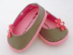 Grey+and+Pink+Ballet+Flats+by+MyGirlClothingCo+on+Etsy,+$8.00