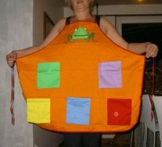 Story Telling Apron: As you know I am not a homeschooling mum but an English teacher in a french school, but I love your ideas and do use them in class so I'd like to share