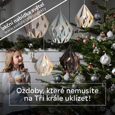 """5 To se mi líbí, 0 komentářů – XXXLutz Česká republika (@lutz_cz) na Instagramu: """"Ozdobte si domov trendy světly ve scandinávském stylu. Nyní je pořídíte se slevou 50%. Vybrali…"""" Trendy, Christmas Bulbs, Holiday Decor, Instagram, Home Decor, Decoration Home, Christmas Light Bulbs, Room Decor, Home Interior Design"""