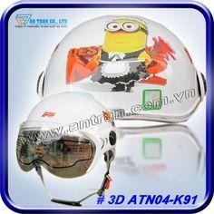 Mũ Báo Hiểm Kẻ Cắp Mặt Trăng 3D ATN04-K91 http://mubaohiemantran.com/3d/non-bao-hiem-ke-cap-mat-trang-3d-atn11-k91-helmet