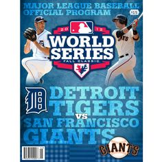 MLB World Series Official Program