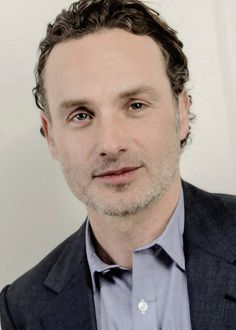 A handsome pic of Andrew Lincoln to help us feel a little better after tonight's episode.