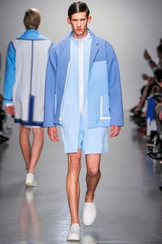 Agi and Sam   SS14 Great colour blocking sporty but smart