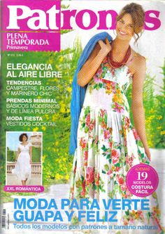 PATRONES magazine 313 (Back issue - unknown edition date). Cutting and sewing instructions in spanish. Felt Books, Sailor Fashion, Crochet Books, Sewing Patterns Free, Refashion, Sewing Hacks, Spring Fashion, Kids Outfits, Magazine