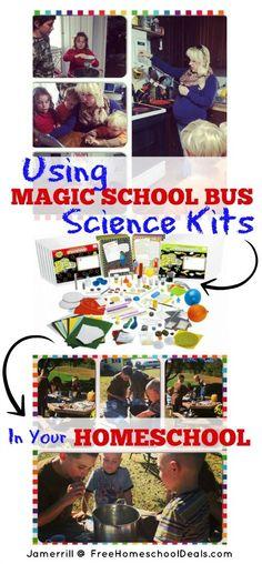 Using Magic School Bus Science Kits in Your Homeschool