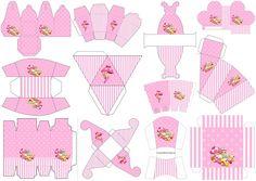 Penelope Glamour Bebé: Cajas para Imprimir Gratis.