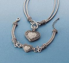 """Love Dust"" necklace and bracelet by lia sophia.  $206....what would it cost as a Hostess or better yet...an Advisor!!!"