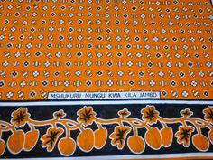 African Fabrics Kanga Khanga Sarong /Fabrics For Dress making/Craft Making Fabrics/ Kanga Lesso/Tissues Africa/Kanga Fabrics/Cotton Fabrics Craft Making, East Africa, African Fabric, Piece Of Clothing, Tanzania, Dress Making, Crafts To Make, Printing On Fabric, Cotton Fabric