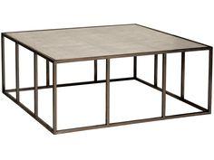 Vanguard Living Room Vista Square Cocktail Table 338CS - Vanguard Furniture - Conover, NC