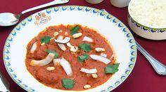 Kylling Tikka Masala - I Nord-India er kylling tikka masala en av de mest kjente. Tandoori Masala, Garam Masala, Korma, Chicken Tikka Masala, Dessert, Thai Red Curry, Recipies, Cooking Recipes, Dinner