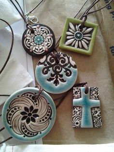 Pottery Jewelry $24. Proceeds help fund an adoption from Uganda!