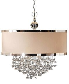 Uttermost FascinatioChandelier in 3-Light Hanging Shade Pendant