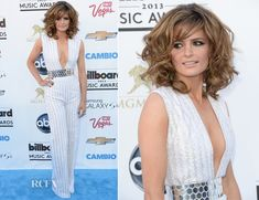 Stana Katic In Nicholas Oakwell Couture at The 2013 Billboard Music Awards at the MGM Grand Garden Arena on May 19, 2013