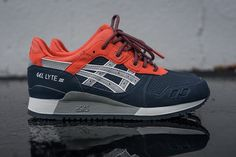 indianink midgrey 1 Three Asics Gel Lyte III Colorways for Spring 2016 eukicks Casual Sneakers, Sneakers Fashion, Casual Shoes, Shoes Sneakers, Marathon, Asics Gel Lyte Iii, Sneaker Games, Streetwear, Sneaker Magazine