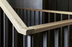 Steel Stairs Design, Staircase Railings, Fence Design, Furniture Design, Garage, House Ideas, Detail, Wall, Home Decor