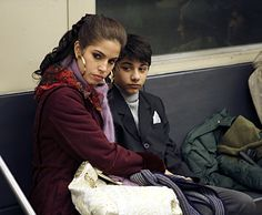 "Ugly Betty - ""Derailed"" - Mark Indelicato as Justin, Ana Ortiz as Hilda"